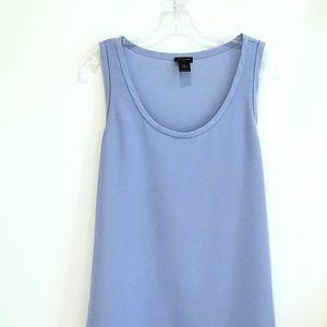 Ann Taylor blue sleeveless top